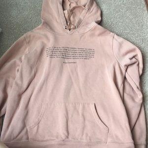 Forever 21 William Shakespeare hoodie